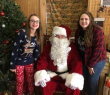 Deer Ranch w/ Santa